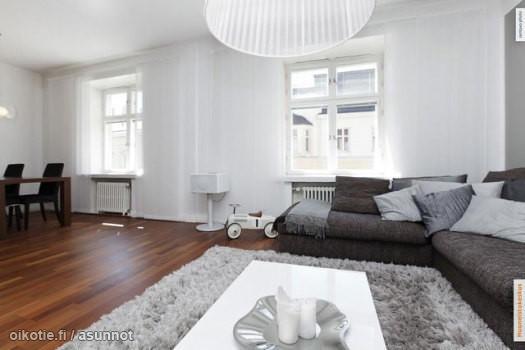 sohva ja asetelma