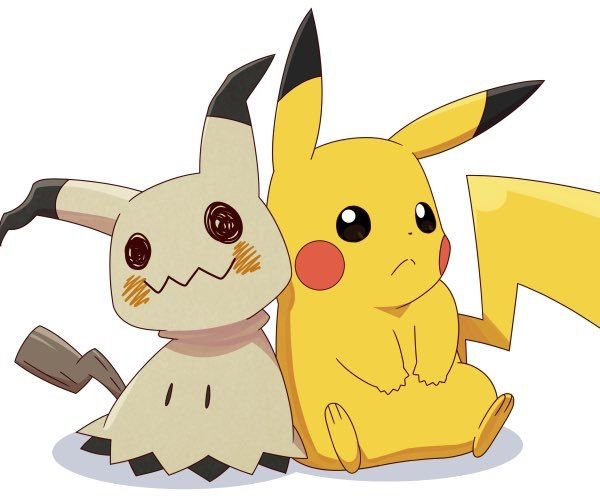 Cute Undertale Wallpaper Pikachu And Mimikyu Pikachu Pikachu Pok 233 Mon Cute Pikachu