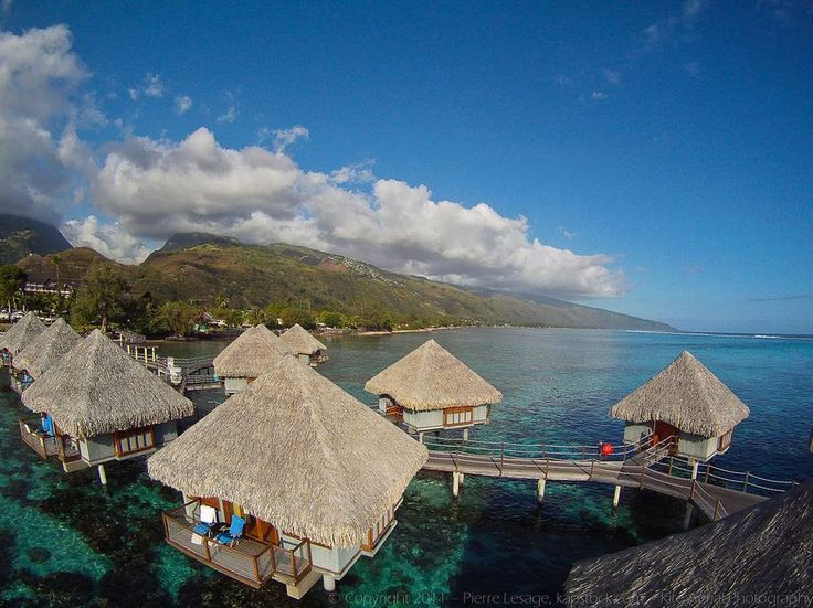 LE MERIDIEN TAHITI Top 10 Overwater Bungalows in the South Pacific