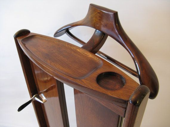 1950s Vintage Italian Valet Butler Clothes Stand by windesign