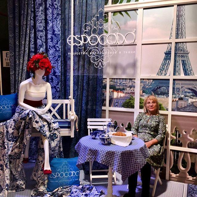 На выставке, ждём новую #espocada