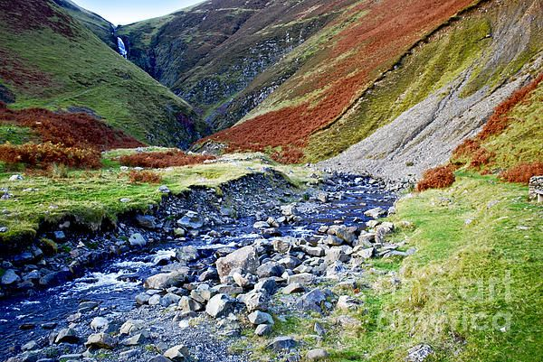 Grey Mare's Tail in Scotland.
