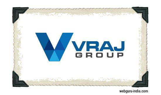 Vraj Group Logo - Low Polygon  Learn more ► http://www.webguru-india.com/blog/top-8-trends-of-logo-design-in-2015/