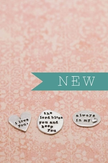 Love these beautiful pocket tokens. Love the idea of a loved one finding one and feeling the love. :: Pocket Tokens by Lisa Leonard Designs