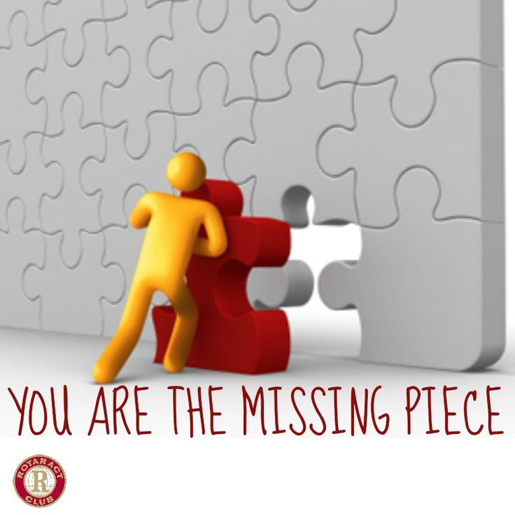 Missing Puzzle Piece Quote: 14 Best Rotaract Quotes Images On Pinterest