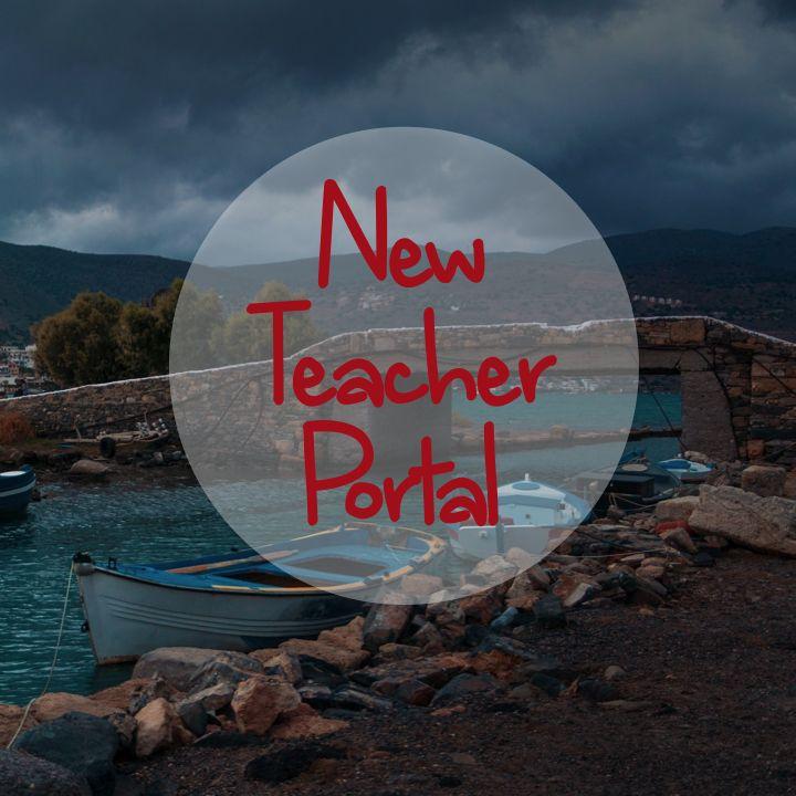 Welcome, New Teachers