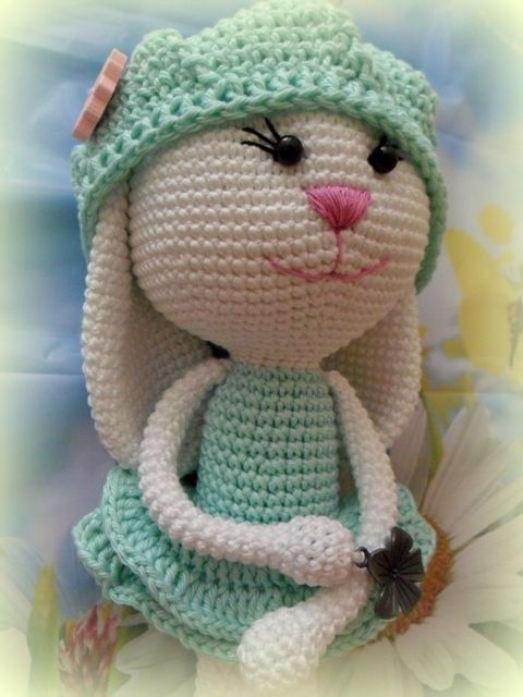 Amigurumi Sevimli Tavşan Yapılışı 8