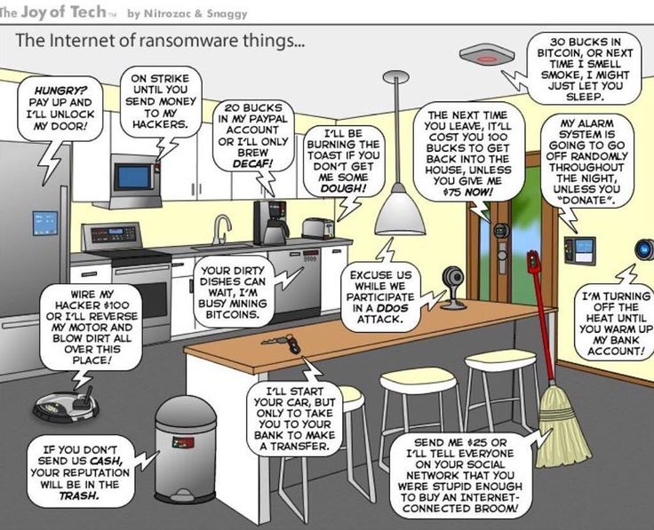 The Internet of ransomware things   #ransomware #iot #wannacry #security
