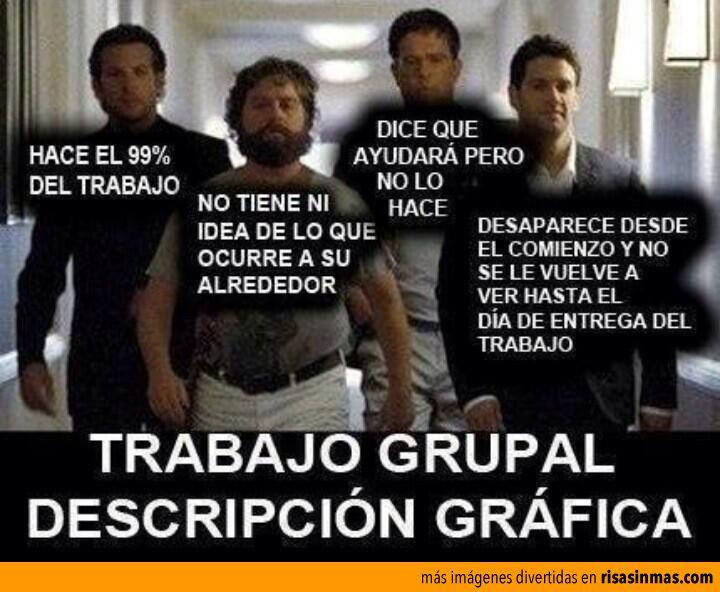 Trabajo en grupo: definición gráfica.