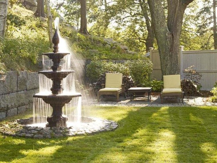 1000 id es sur le th me fontaine jardin sur pinterest. Black Bedroom Furniture Sets. Home Design Ideas