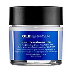 The best moisturizer ever! Ole Henriksen - Sheer Transformation