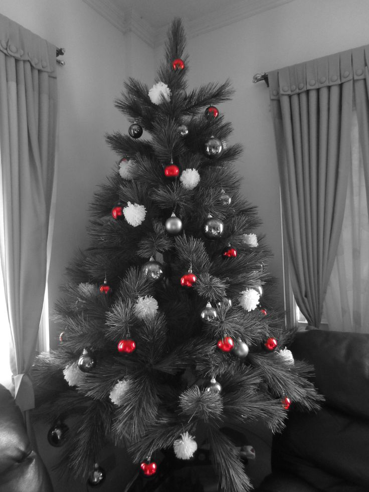 42 best my gray christmas images on pinterest christmas for Where can i buy a red christmas tree