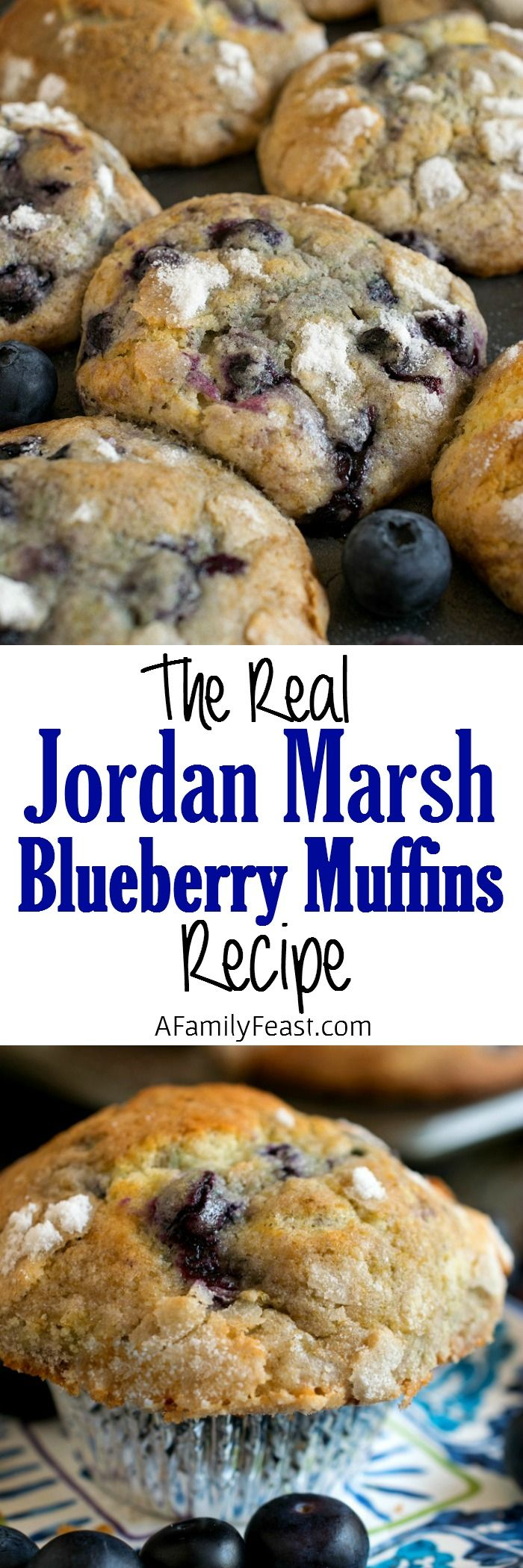 Jordan Marsh Blueberry Muffins are legendary in the Boston area. We're sharing the recipe today – including tips and tricks from the man who baked these muffins for 45 years.