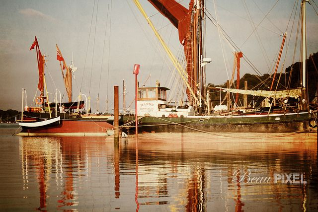 Boats | by Beau Pixel, via Flickr