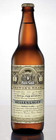 """Full Sail Brewing Releases Brewer's Share Beer """"Farias Clara"""" for Oregon Craft Beer Month - #craftbeer"""