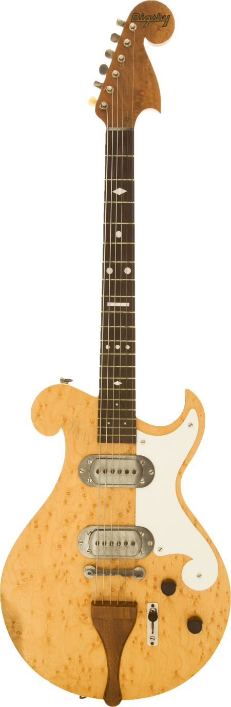 1949 Bigsby Birdseye Maple solid body electric guitar – just the fourth electric guitar ever made by Bigsby –