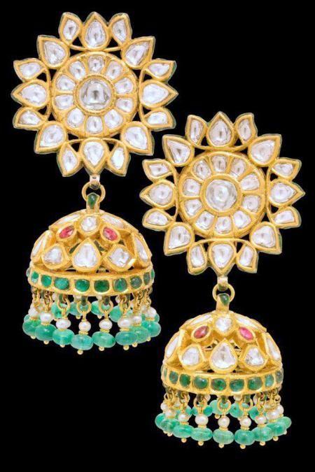 Sunita Shekhawat Jewellery Designer, Jaipur Exclusive Earrings by Sunita Shekhawat- Jaipur » Earrings by Sunita Shekhawat Jaipur