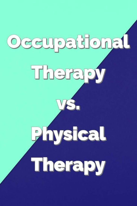 Occupational Therapy Vs Physical Therapy Which Career Should You Choose Myo In 2020 Occupational Therapy Occupational Therapy Kids Occupational Therapy Activities
