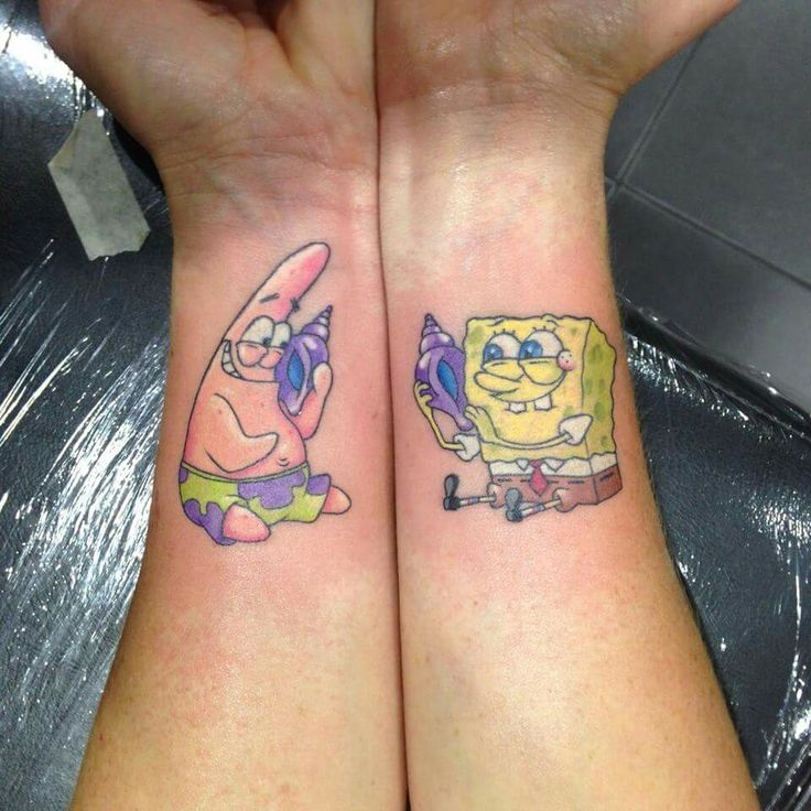 16 Tattoo Design Maker Online: 16 Best Spongebob Tattoos Images On Pinterest