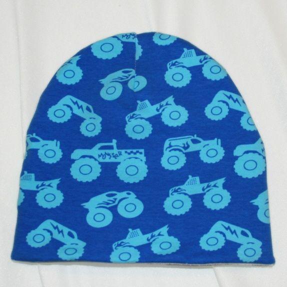 Eplabiter -  Hat with fleece innside size 4-12 y Lue foret med fleece str 52-56 (ca 4 → 12 år) https://epla.no/shops/stilig/