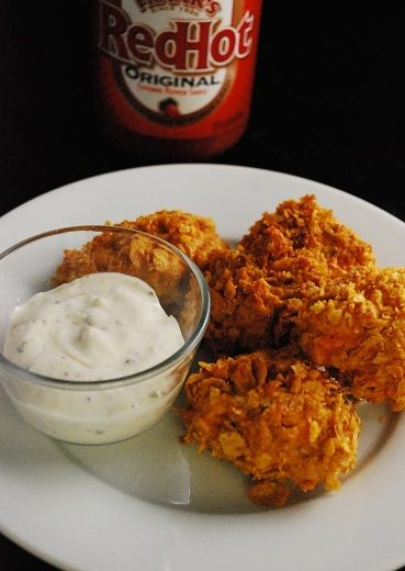 Buffalo Chicken Bites!  6 buffalo chicken bites are only 140 calories and 3 weight watchers plus points. | laaloosh