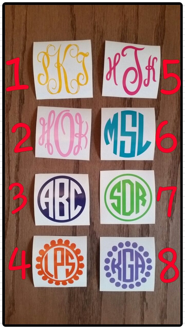 Best Cases Images On Pinterest Monograms Decals And Iphone - Monogram car decal sizescar window monogram decalchickadees designs