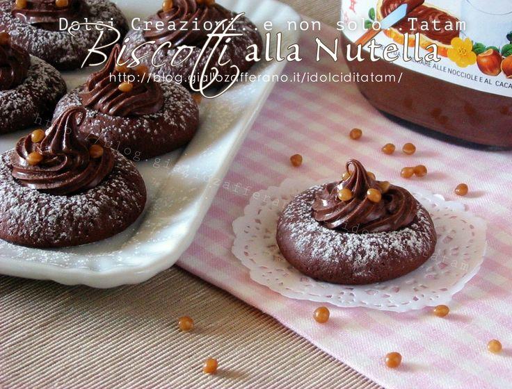 Biscotti semplici alla Nutella