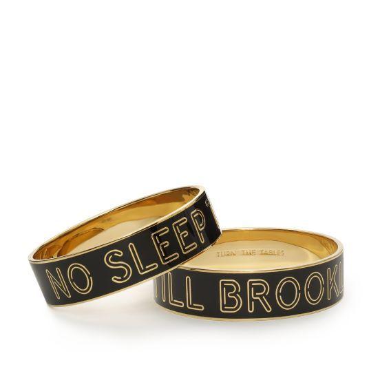 no sleep till brooklyn idiom bangle: Till Brooklyn, Sleep Till, Styles, Idioms, Beasties Boys, Bangles, No Sleep, Kate Spade, Nosleep
