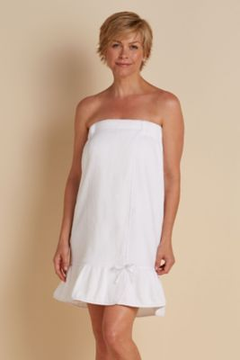 Spa Wrap - Towel Wrap, Robe Wrap | Soft Surroundings