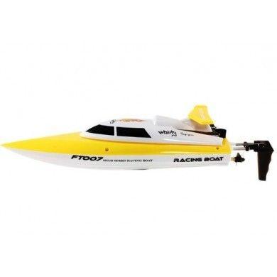 FT007 RC Speed båd RTR 2.4 GHz Gul - ToyTrade.dk