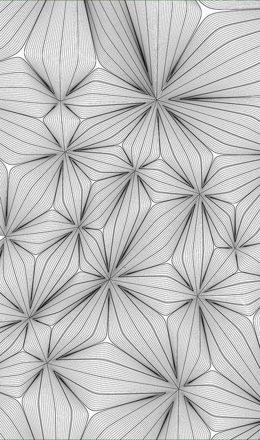 Voronoi floral