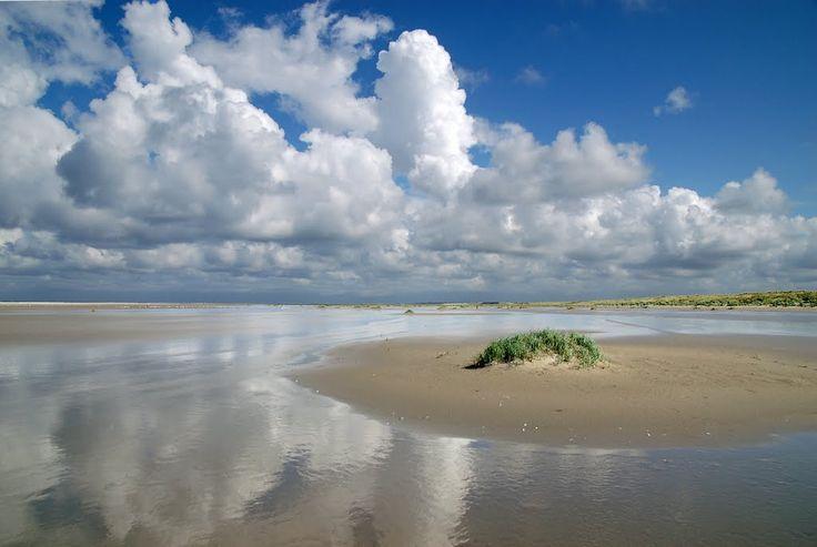 Ameland - strand ten N van Hollum