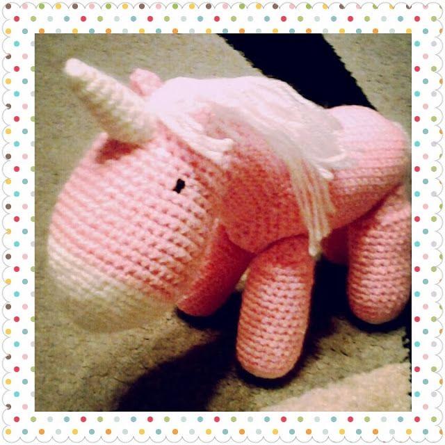 ElaMakrela Crochet: Pink Unicorn