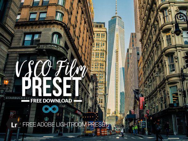 Film presets lightroom free