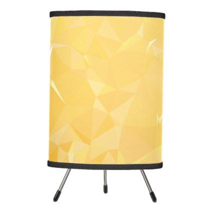 LoveGeo Abstract Geometric Design - Honey Comb Tripod Lamp - trendy gifts cool gift ideas customize
