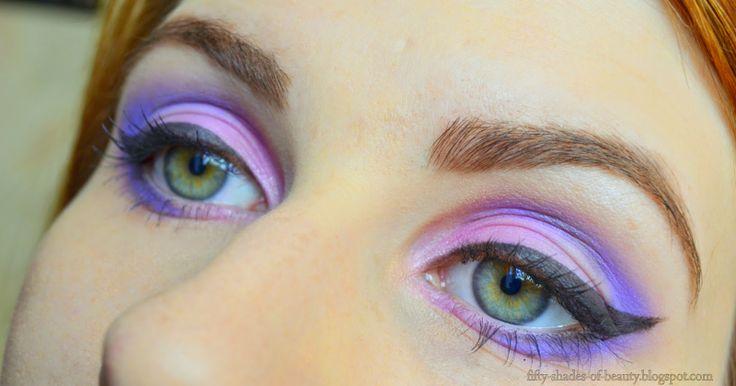 Violet Make Up   http://fifty-shades-of-beauty.blogspot.com/2014/04/violet-make-up.html