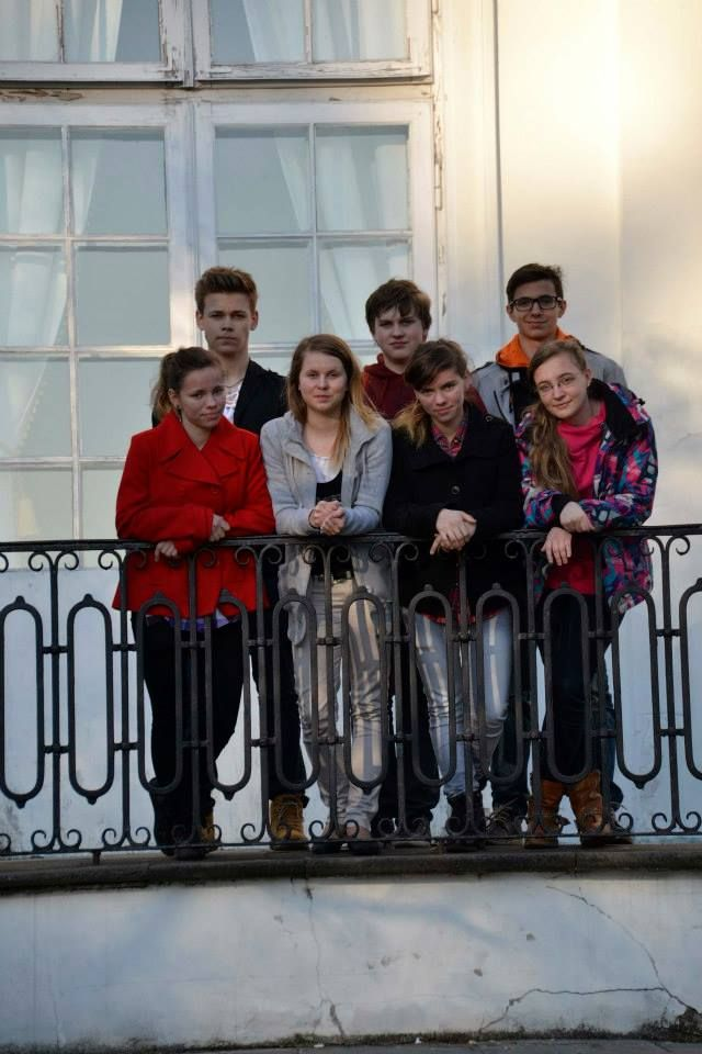 Młodzież z Dobrodzienia na planie filmowym Kler