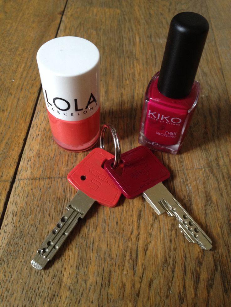 Vernis sur clés