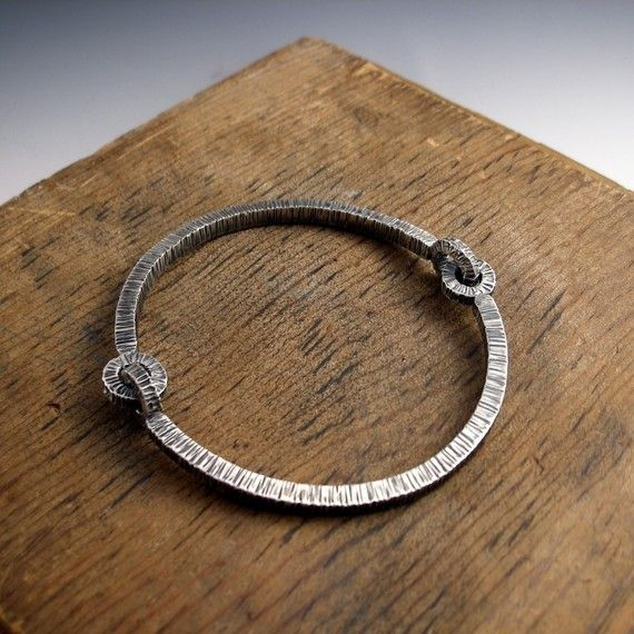 bhuj flexibangle bracelet sterling silver by markaplan on Etsy, $888.88