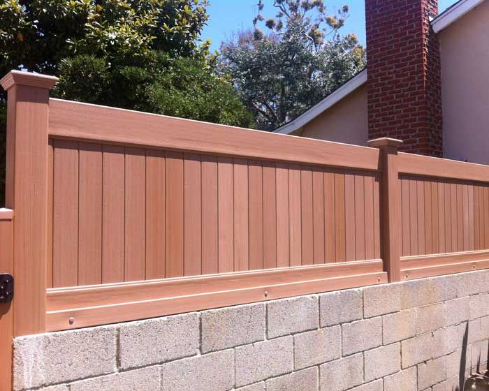 Wall Extension Southland Vinyl Fences Patio Fence Vinyl Fence Backyard Fences