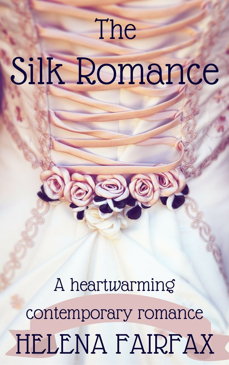 New cover for The Silk Romance - a heartwarming, feel good Cinderella romance set in Lyon, France - with a hot French hero! :)