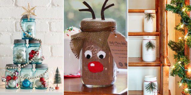 37 Magical Ways to Use Mason Jars This Christmas - GoodHousekeeping.com