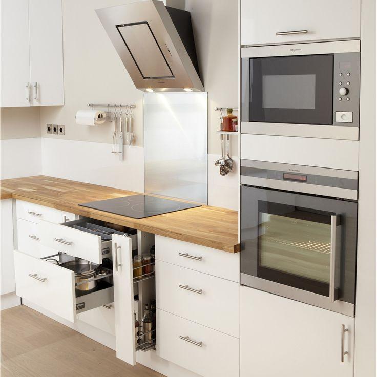 20 best Cuisines images on Pinterest Kitchens, Doors and Sliding door - meuble cuisine porte coulissante ikea