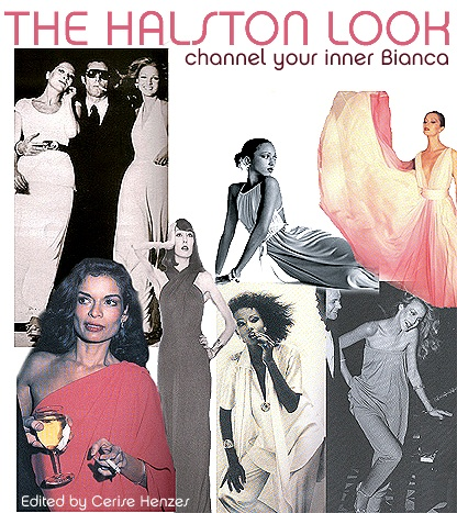 Halston Collage