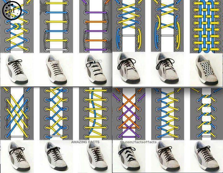 Different Ways To Tie Shoe Vans