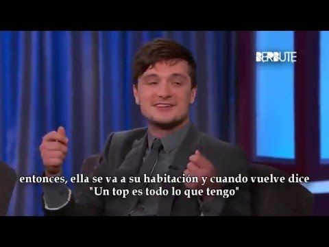 Entrevista a Josh Hutcherson en Jimmy Kimmel (Subtitulado al español)