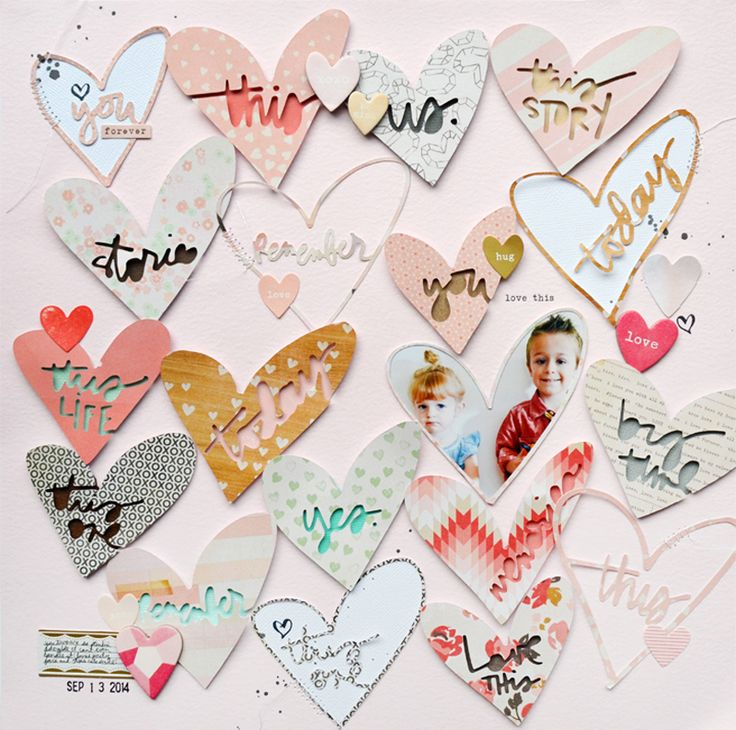 Love This scrapbook layout by Paige Evans for Scrapbook Expo - Weekly Scrapper blog