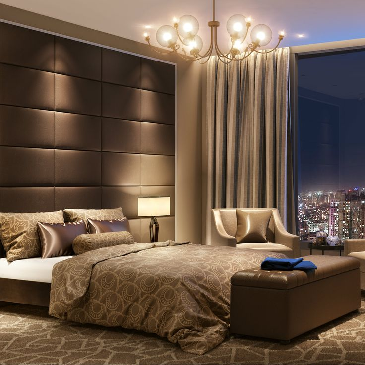 Hotel Chic Style Bedroom For Indian Homes