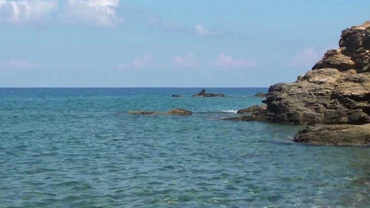 PANORMOS BAY IN CRETE ISLAND.