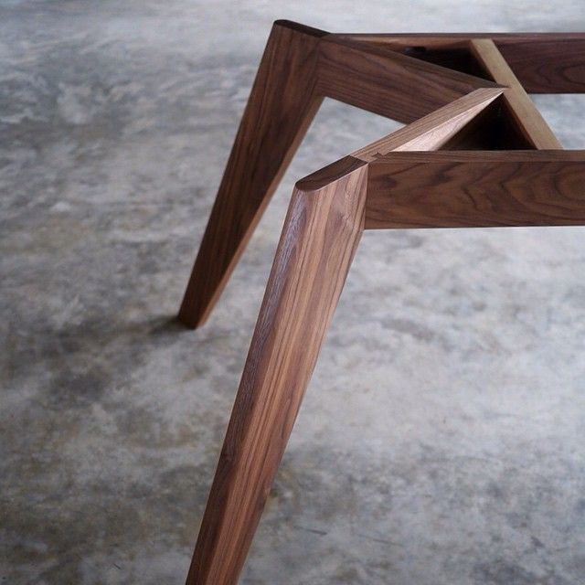 Vista St- Black Walnut @staple_design @designfarm_perth #australiandesign #furnituredesign #custommade #woodworking